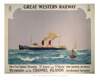 Channel Islands steamers