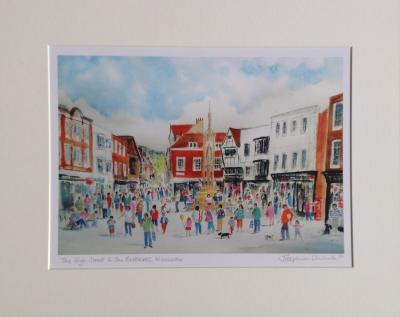 High Street and Buttercross