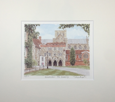 Winchester Cathedral & Deanery