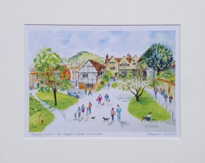 Cheyney Court & Pilgrims' School