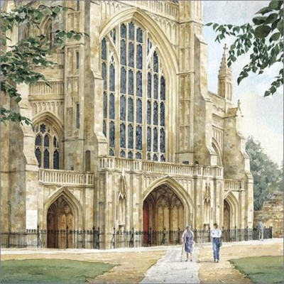 West front, Winchester Cathedral