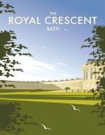 Bath, Royal Crescent.