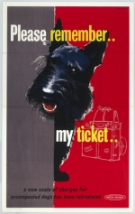 Dog: 'Please remember my ticket'