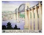 Saltash, Royal Albert Bridge,