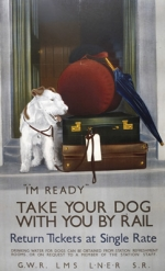 Dog: Take your Dog with you by Rail
