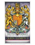 Royal Coat of Arms, 'God Save the Queen'