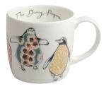 'Dancing Penguins' mug
