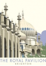 Brighton, the Royal Pavilion