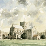 St Cross greetings card
